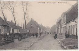 16763g DE KERKSTRAAT - Ru De L'Eglise - Selzaete - 1910 - Zelzate
