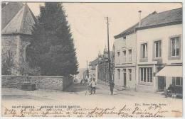 17008g FONTAINE - CAFE - Avenue NESTOR MARTIN - Saint-Hubert - 1911 - Saint-Hubert