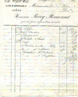Liège - 1885 - Honorine Pierry-Rensonnet - Robes Et  Confections - Textile & Vestimentaire