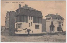 17157g VILLAS Sur La DIGUE - Knocke - 1912 - Knokke