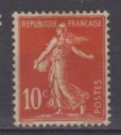 France   N° 134 Neuf Avec Charnière * - 1906-38 Sower - Cameo