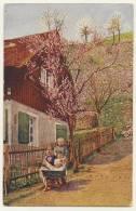 2065 - AK Kinder Mit Kinderwagen 1925 - Groupes D'enfants & Familles