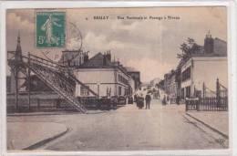 Bruay-La-Buissière    Rue Nationale Et Passage à Niveau - Frankreich