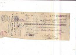 Liège - 1909 - Vve Charles Vidick - Quincaillerie & Poêlerie - Belgique