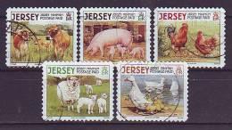 JERSEY - 2008 - MiNr.1366-1370 (Jahreszahl 2008) - Gestempelt - Jersey