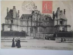 Cpa Maison Laffitte Le Chateau Façade Principale - 1906 - SC02 - France