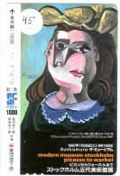 PICASSO * Telecarte JAPON (45) PHONECARD JAPAN - Pintura