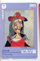 Carte Japon Peinture * Pablo PICASSO (7) Japan Painting Card * Spain & France Related * MAHLEREI - Pintura