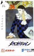 PICASSO * Art Peinture Schilderij Painting Malerei * Telecarte JAPON  (32) PHONECARD JAPAN - Pintura