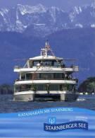01547 Katamaran STARNBERG Auf Dem Starnberger See - Paquebots