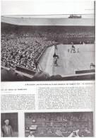 Tennis Match A WIMBLEDON    Suzanne Lenglen Miss RYAN  SAUT DE EVELYN COLYER 1925 - Tennis
