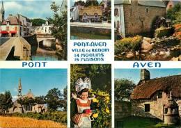 PONT AVEN   MULTIVUES   JOS  SCANS RECTO VERSO - Pont Aven