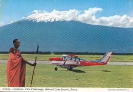 Afrique -  Kenya - Avion Transport Réserve De CHasse Amboseli - Oblitération Malinbi 1973 - Kenya