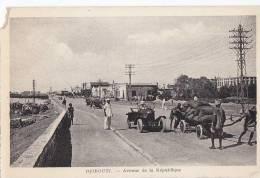 Afrique - Djibouti - Village - Avenue De La République - Gibuti