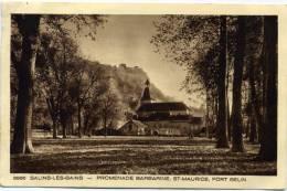 39 - Salins Les Bains - Promenade Barbarine , Saint Maurice , Fort  Belin  N° 3986 - France