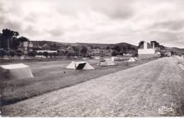 CPA 22 COTES D\´ARMOR LES ROSAIRES VUE PEU COURANTE DU  CAMPING EN 1955 - France