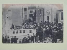 Lamalou Inauguration De La Statue Du Dr Privat 1903 - Lamalou Les Bains