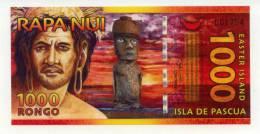 ILE DE PAQUES : 1000 Rongo 2011 (unc) - Rapa Nui