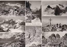 Austria Gruss vom Dachstein Multi View Real Photo