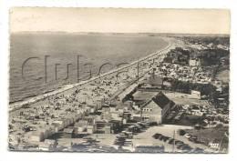 Carolles-plage (50) : Vue Aérienne Au Niveau Du Bord De Mer Près Du Camping En 1952 (animé) - Andere Gemeenten