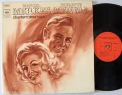 Marcel MERKES Paulette MERVAL  LP BIEM L Duo De L'escarpolette (FRENCH)  M / EX    Parfait état - New Age