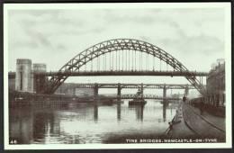 """Tyne Bridges, Newcastle-on-Tyne""  A  C1950  Postcard. - Newcastle-upon-Tyne"