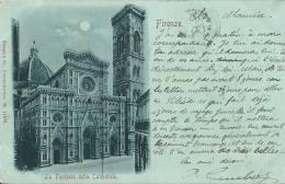 Cpa Toscana  Firenze (Florence) La Face De La Cathedrale De 1900 - Firenze (Florence)