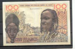 Benin AOF WAS 100 Fr  1965 - Benin