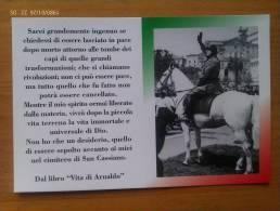 Postal Fascista. Benito Mussolini A Caballo. Italia. Pescara 1983. II Guerra Mundial. - Documentos