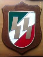 Metopa S S Italianas. Italia. II Guerra Mundial. - Militares