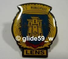 Pin's A. S. Municipaux LENS - Villes