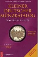 Kleine Münz-Katalog 2005 Antiquarisch 10€ Numisbrief Numisblatt Coin Catalogue Of Germany Austria Helvetia Liechtenstein - Books & Software