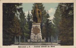 Denkmal Albrecht Des Baren, Ballenstedt A. H. (Saxony-Anhalt), Germany, 1900-1910s - Ballenstedt