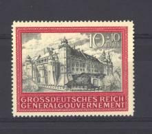 Allemagne  -  General Gouvernement  :  Yv  136  * - 1939-44: 2ª Guerra Mundial