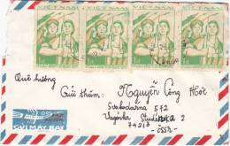 VIETNAM  19??  COVER To TSJECHOSLOVAKYA - Vietnam