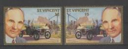 St. Vincent (1987) Yv.1027 - BIG ERROR !!!  /  Cars - Autos - Voitures - Automobiles - Ford - Auto's