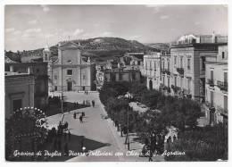 Gravina Di Puglia - Piazza Pelliciari Con Chiesa Di San Agostino - Bari - H30 - Bari