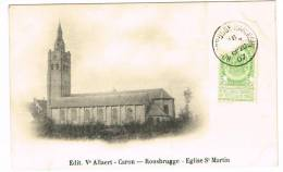 "Carte Postale ""RousBrugge - Eglise St Martin / Sint Martijn Kerk"" - Brugge"