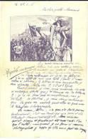 LTR6/2 - LETTRE AVEC ILLUSTRATION PATRIOTIQUE ECRITE EN JUIN 1918 - PUB BYRRH VIN TONIQUE - Documents