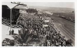 The Race Track Agua Caliente Tijuana Mexico Old Real Photo Postcard - Mexique