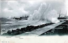 Ceylon, COLOMBO, Breakwater, 191? - Sri Lanka (Ceylon)