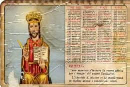 Calendarietto - 1968 Il Glorioso Apostolo S. Matteo - Calendriers