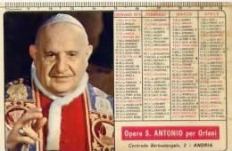 Calendarietto - 1975 Opera S. Antonio Per Orfani - Andria - Calendari