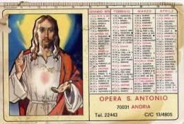 Calendarietto - 1978 Opera S.antonio - Andria - Calendari