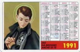 Calendarietto - 1991 S.gabriele Dell´addolorata - Calendari