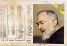 Calendarietto - 1995 Padre Pio - Calendari