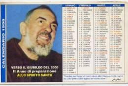 Calendarietto - 1998 Padre Pio - Formato Piccolo : 1991-00
