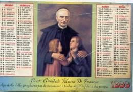 Calendarietto - 1999 Beato Annibale Maria Di Francia - Calendari