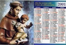 Calendarietto - 2001 S.antonio - Calendarios