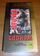 Vhs Pal Godzilla Inoshiro Honda Hk Vidéo Version Originale Japonaise Sous-titrée En Français - Ciencia Ficción Y Fantasía